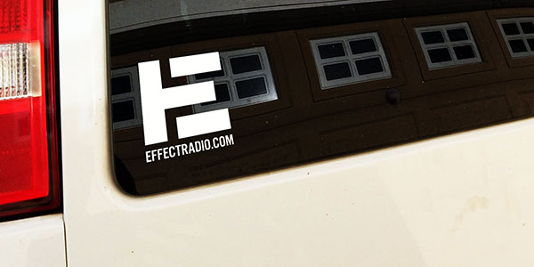 Effect Vinyl Bumper Stickers - Order Now