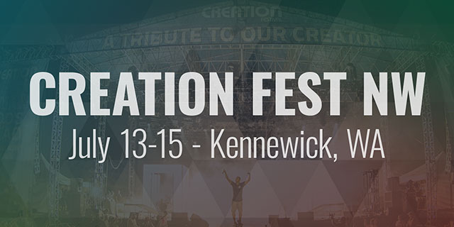 Creation Fest - July 13-15 - Kennewick, WA